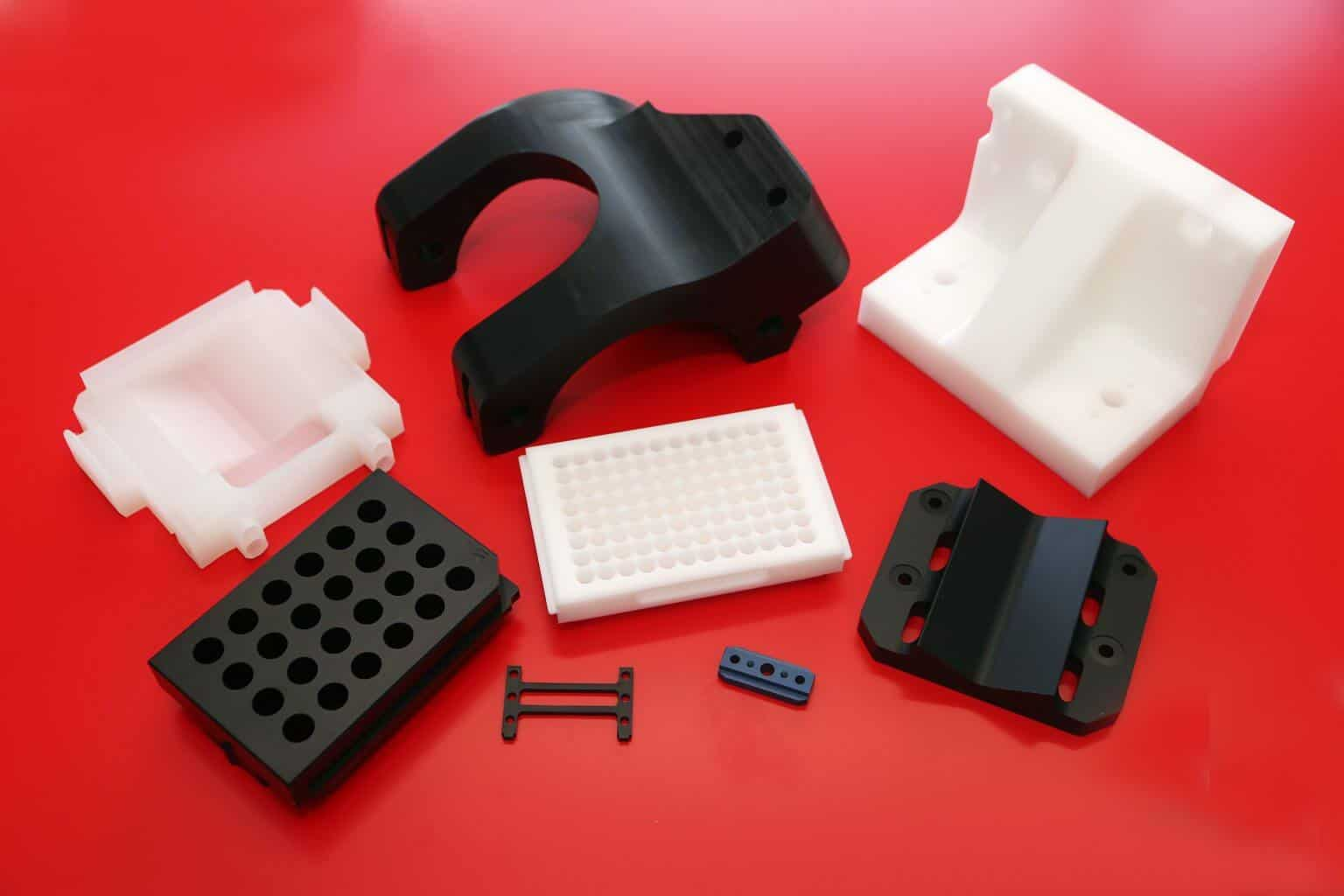 machined Polypropylene components